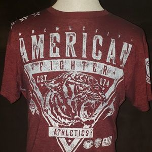 American Fighter tee